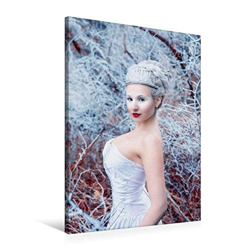 and 60 cm x 90 cm hoch, Frost und Eis | Wandbild, Bild auf Keilrahmen, Fertigbild auf echter Leinwand, Leinwanddruck: Ein modernes Märchen (CALVENDO Menschen) (Eis Märchen Kostüme)
