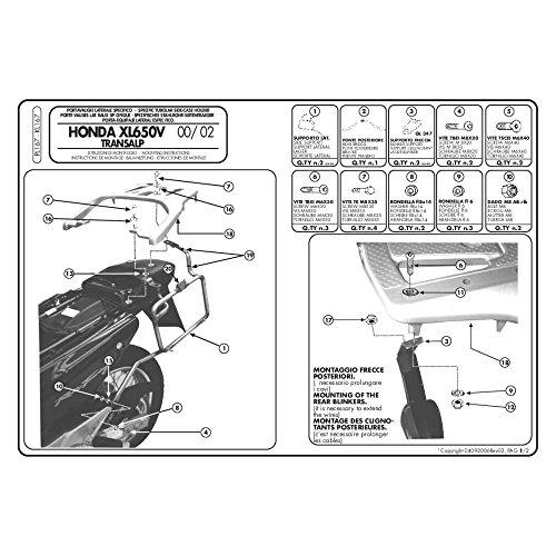 Givi - Soporte Maletas Laterales Honda xl650 transalp
