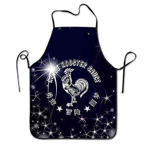 HTETRERW Hot Chili Sauce Good Choice Apron for Baking Crafting Gardening Cooking Durable Easy Cleaning Creative Bib for Man and Woman Standar Size