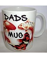 Koi Carp Design Dads Ceramic Mug