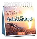 Miniwochenkalender 365 Tage Gelassenheit 2020 - kleiner Aufstellkalender mit Wochenkalendarium: Kleiner Kalender für mehr Ruhe, Achtsamkeit und Gelassenheit