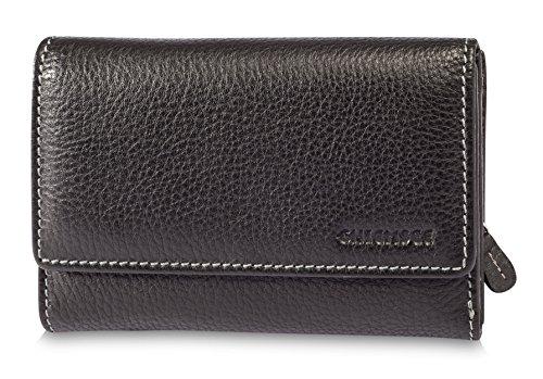 Chiemsee Vermentino portafoglio pelle 14,7 cm Black Black