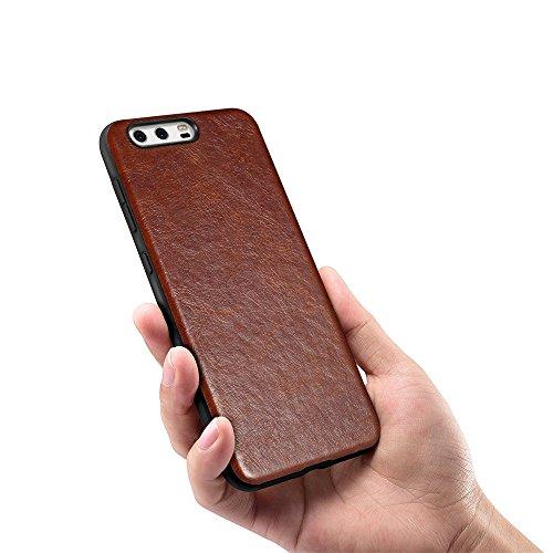 Momoxi Phone Accessory Huawei Handyhülle Handy-Zubehör Ledermuster Ultradünne TPU-weiche Schutzhülle Für Huawei P10 lite hülle