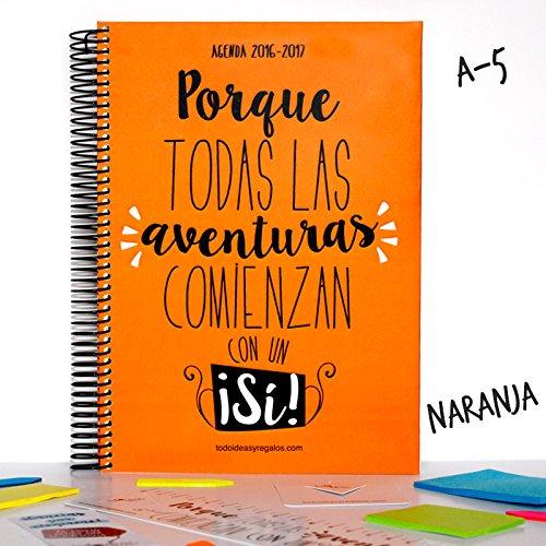 todoideas Agenda 2017A5Orange