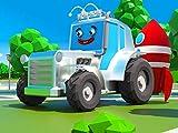Glänzend Traktor