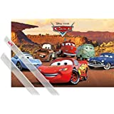 Poster + Hanger: Cars Poster (91x61 cm) Float Like A Cadillac, Sting Like A Beemer Inklusive Ein Paar 1art1® Posterleisten, Transparent