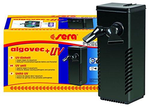 Sera 30606algovec UV Ultravioleta C–Sistema para acuarios hasta 100L–5W, Incluye Transformador y balasto