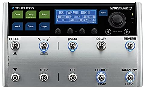 TC HELICON VoiceLive 3 Vocal/Guitar FX and Multi Looper