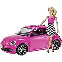 Barbie - Volkswagen Beetle Rosa (BJP37)