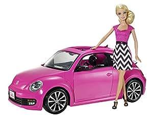 barbie bjp37 poup e mannequin barbie et cabriolet coccinelle volkswagen jeux. Black Bedroom Furniture Sets. Home Design Ideas