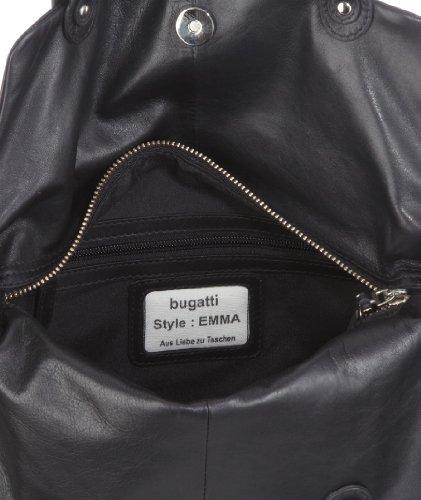 Bugatti Emma 49664701, Valigetta donna - Nero Nero