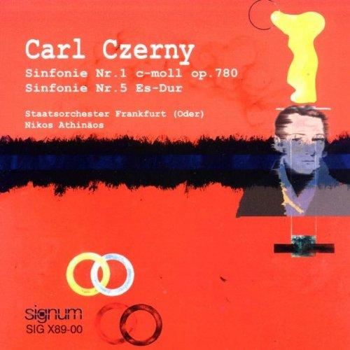 Czerny Sinfonien 1 und 5 Athinaeos - Sinfonie Czerny