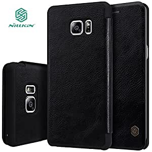 AE(TM) NILLKIN Qin Series Wallet Flip Leather Cover For SAMSUNG GALAXY NOTE 7 BLACK