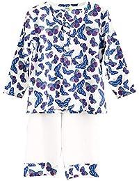 Frangipani Unisex Cotton Butterfly Bonanza Pyjama Set