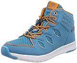 FOOTI Unisex-Kinder Diabas Hohe Sneaker, Blau (Blue/Orange 3531), 31 EU