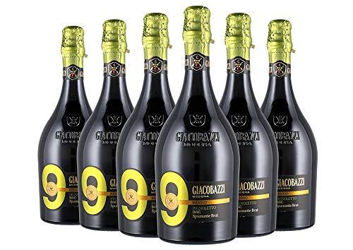 Pignoletto di Modena DOC Brut 9 Brioso box da 6 bottiglie Giacobazzi 0,75 L