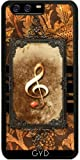 DesignedByIndependentArtists SilikonHülle für Huawei P10 - Musik, Notenschlüssel by nicky2342