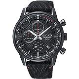 Seiko Herren Chronograph Quarz Uhr mit Edelstahl Armband SSB315P1