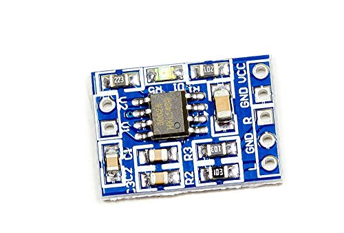 Mikrofon Audio Verstärker Mikrofonverstärker single channel HXJ8002 für Protoyping Arduino Raspberry Pi
