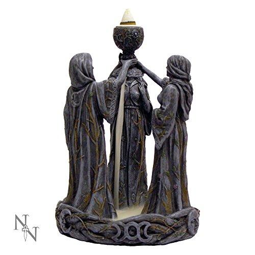 Mother Maiden & Crone Backflow Incense Burner Set