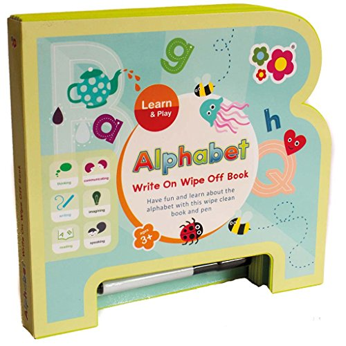 Meadow Kids mk264Alphabet Schreiben auf Wipe Off Buch (Schreiben Alphabet Bücher)