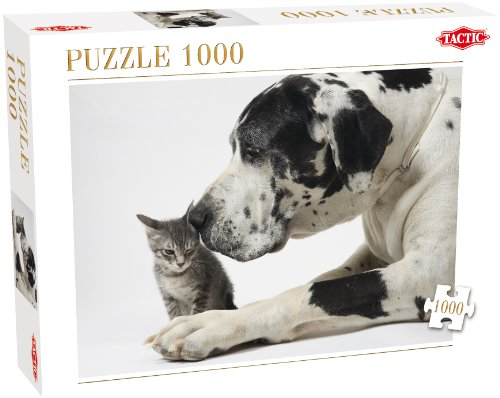 Tactic Friends Puzzle - Rompecabezas (Puzzle Rompecabezas, Fauna, Adultos, Niño/niña, 8 año(s), 99 año(s))
