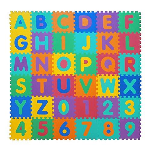 VeloVendo® - Tappeto Puzzle con Certificato CE e Certificazione SGS in soffice...