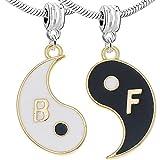 Sexy Sparkles pour femme 2pièces (2) huit Diagrammes pendantes Perle charm pour bracelets de serpent