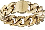 خواتم مصنوعة من فولاذ مطلي بالذهب الايوني للنساء من تومي هيلفيجر - موديل 2700967C