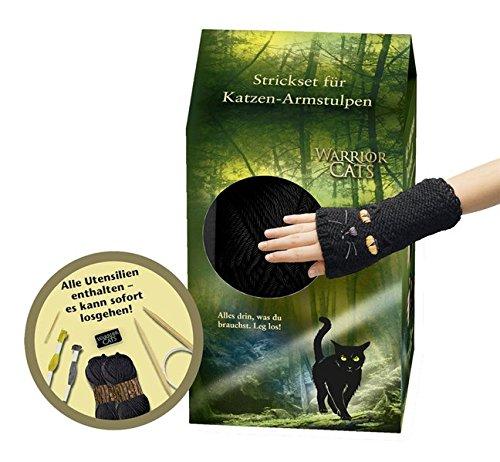 Warrior Cats - Strickset für Katzen-Armstulpen