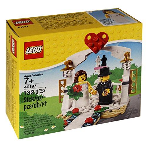 LEGO Minifiguren-Hochzeitsset 40197, 132 Teile, Modell 2018 (Lego Bionicle Teile)