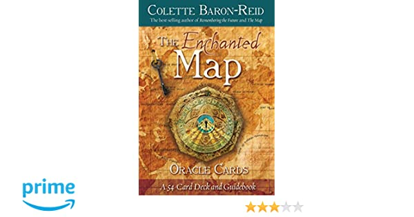 The Enchanted Map Oracle Cards Amazonde Colette Baron Reid