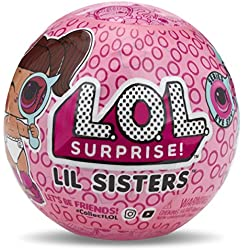 MGA Entertainment L.O.L. Surprise! Lil Sisters Ball - Series Eye Spy 1A muñeca - Muñecas, Femenino, Chica, 12 año(s), De plástico, Surprise Ball