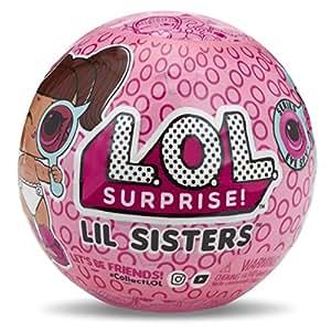 L.O.L. Surprise!! – Series 4 – Wave 1 – Under Wraps – Lil Sisters – Kugel mit 5 Überraschungen