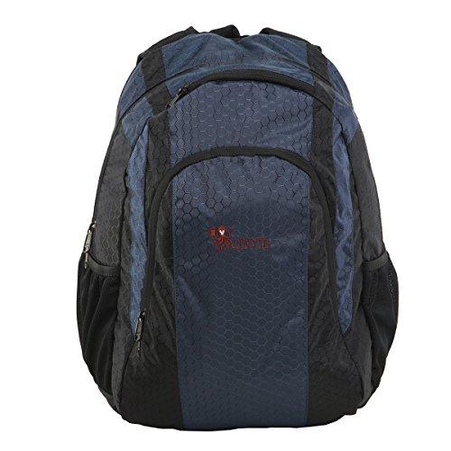 RULOTE nylon impermeabile ad alta tenacità filato a nido d'ape reticolo Laptop Backpack / un'escursione zaino / zaino di campeggio / alpinismo zaino (azzurro)