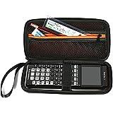 Poschell Voyage cas dur pour TI-83 Plus TI-84 Plus CE TI-84 Plus Ti-84 plus C édition d'argent TI-84 Plus Color Edition TI-89 Titanium HP50G Calculatrices graphiques et Kit Calculator Accessoire