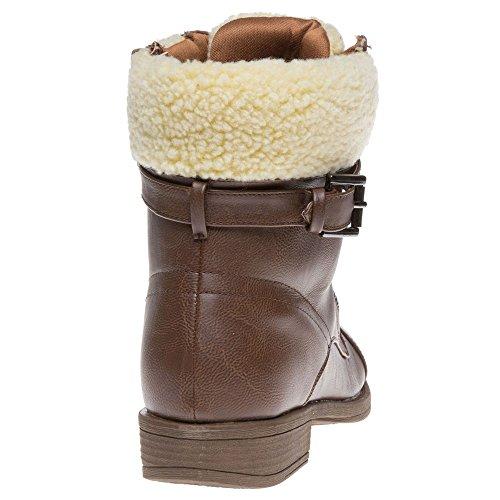 Dolcis Snow Femme Boots Marron Marron