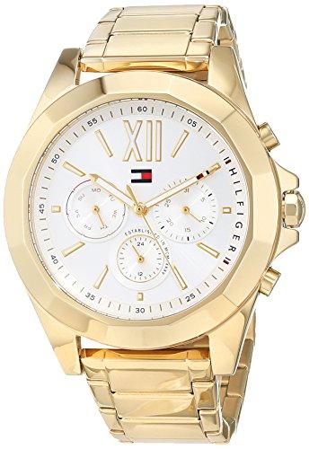 Tommy Hilfiger Reloj Multiesfera para Mujer de Cuarzo con Correa en Acero Inoxidable 1781848