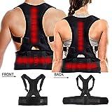 Dazone Haltungskorrektur Rücken Geradehalter Schulter Rückenstütze für Damen und Herren (M)