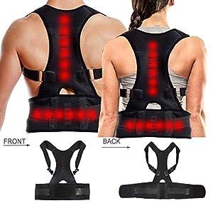 Dazone Haltungskorrektur Rücken Geradehalter Schulter Rückenstütze für Damen und Herren