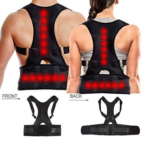 Dazone Haltungskorrektur Rücken Geradehalter Schulter Rückenstütze für Damen und Herren (XL)