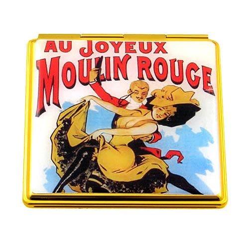 Souvenirs de France - Miroir Paris 'Joyeux Moulin Rouge'