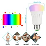 LOHAS WIFI A60 Colour LED Smart Bulb,Works with Amazon Alexa, Colour Changing, Emit Any Hue in the Rainbow and Tuneable White Lights,60W Equivalent, Controlled by a Smartphone,1 Pack from LOHAS-LED