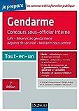 Le concours Gendarme sous-officier interne - 2e éd. - Tout-en-un