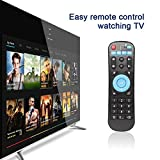 Haihuic Telecomando sostitutivo della TV Box per T95Z Plus T95K Pro T95V Pro T95U Pro T95W Pro Q Box S912 IPTV Media Player