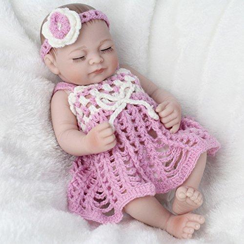 YIHANGG Muñeca Renacida Simulación Suave Baño Muñecas Juguetes para Dormir Alive Baby Real Vinyl Belly Niños Juguete Regalo De Cumpleaños