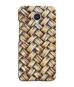 PrintVisa Designer Back Case Cover for Meizu M3 Note :: Meizu Note 3 (Criss Cross Pattern Design)