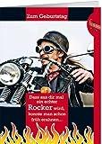 Grußkarte A5 +++ MIT MUSIK & LICHT von modern times +++ EIN ECHTER ROCKER +++ BENTINO