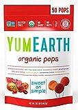 Organic Lollipop Assorted Bag - 12.3 oz,(YummyEarth)