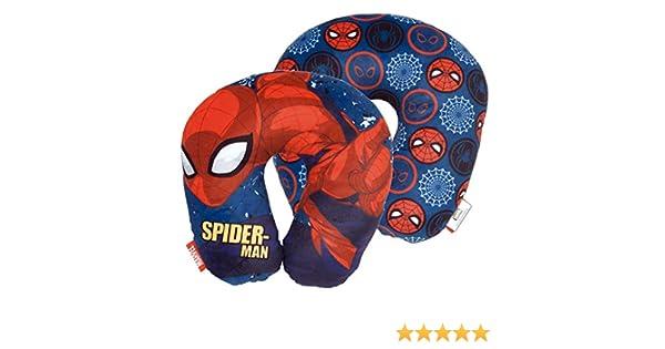 Arditex Coussin de Cou r/éversible mod/èle Spiderman